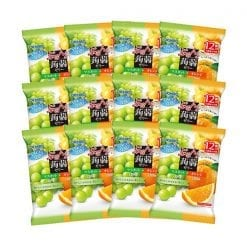 오리히로 곤약젤리 청포도 오렌지12개입 x 12개 세트