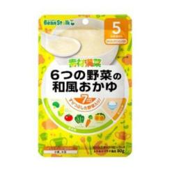 유키지루시빈스타크6가지야채의일본식죽80g