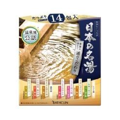 일본 유명 온천 30g x 14포