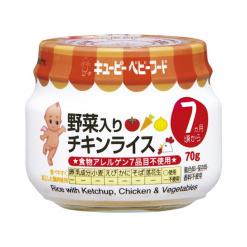 큐피이유식야채넣은치킨라이스70g