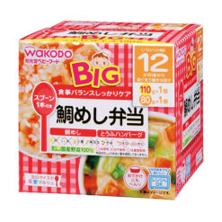 big영양마르쉐도미밥도시락도미밥110g두부햄버거80g