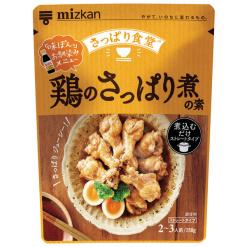 미쯔칸 담백하게 조림한 닭 가루 250g