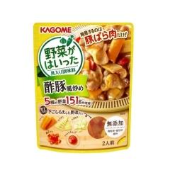 카고메 야채가 들어간 탕수육풍 볶음 조미료