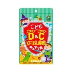 어린이 비타민 비타민c kt 11 유산균 씹기 편한 35g 600mg × 30 정