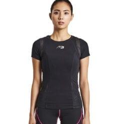 7스포츠 여성용 벨가드 티셔츠ifmc기능성 블랙
