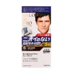 다리야 일본 살롱 드 프로 남성 염색상품백발용 스피디자연 흑갈색