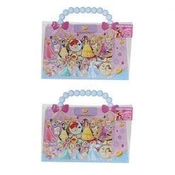 4901771121580 장난감 디즈니 프린세스 외출 스티커 가방 2개1세트