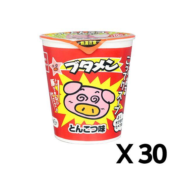 돼지 멘 돈코츠 맛 37g 30개 세트