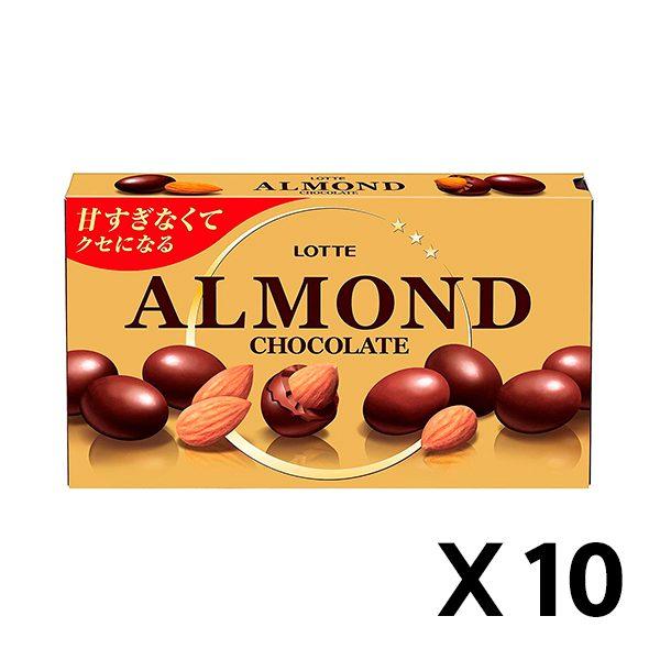아몬드 초콜릿 86g 10개 세트