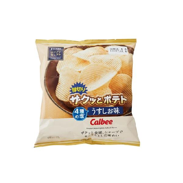 로손 오야츠고로 쟈큿도 포테토 소금맛 65g